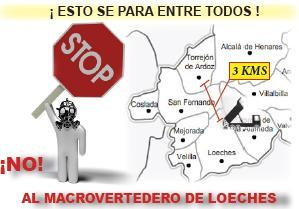 No al macrovertedero de Loeches